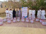 متوسطة وثانوية غران تنفذ برنامج المشروع الكشفي الوطني لنظافة البيئة وحمايتها