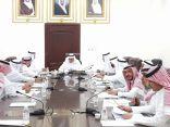 محافظ خليص يترأس اجتماع مجلس مشايخ المحافظة