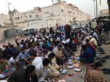 أبناء الجالية الهندية بحي المغاربة بخليص يقيمون إفطارهم الجماعي السنوي