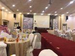 تنمية شرق خليص تقدم محاضرة مهارات سوق العمل للدكتور الحميري