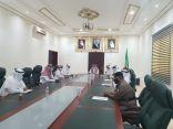 محافظ خليص بالنيابة يطلع على مشاركات الأجهزة الحكومية بملتقى مكة الثقافي