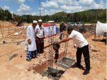 الندوة العالمية تضع حجر الأساس لمركز عثمان بن عفان في تايلاند