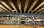 70 ساعة تجسد جدارية تجميلية في مكة المكرمة