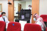 """أحوال مكة تنفذ مبادرتها """"نأتي إليك """" في مجمع الملك عبد الله الطبي"""