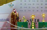 """نيابة عن خادم الحرمين .. ولي العهد يرعى حفل سباق """"كأس السعودية"""""""