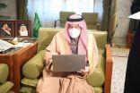 """أمير الرياض يستقبل جمعية """"إعلاميون"""" ويدشن فعاليتها """"المشي صحة"""""""