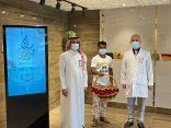 منسوبو مستشفى رابغ العام يشاركون المرضى المنومين فرحة عيد الأضحى المبارك