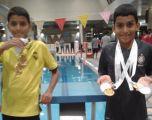 الأخوان القرني يحصدان ست ميداليات ذهبية ببطولة الغربية