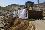 إصلاح الطرق المتضررة من الأمطار في مركز وادي ستارة