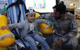 المديرية العامة لحرس الحدود بجدة تشارك في اليوم العالمي للإعاقة