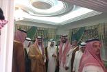 أمير منطقة مكة المكرمة بالنيابة يزور أبناء الشيخ حسن بمنزلهم بخليص