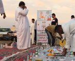 أهالي حي الربوة بغران يقيمون إفطارهم الجماعي السنوي