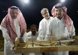 أعضاء خيمة العز بدوقة يقيمون مأدبة عشاء تكريما للأستاذ محمد بن أحمد بمناسبة ترقيته