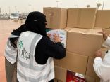 ورود نوارة التطوعي يوزع 400 سلة غذائية