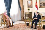 الرئيس المصري عبدالفتاح السيسي يستقبل معالي المستشار تركي آل الشيخ