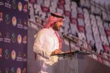 سمو وزير الرياضة يفتتح منافسات البطولة الآسيوية الـ23 للأندية الأبطال لكرة اليد بجدة.