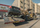 أمانة الجوف ترفع 100 سيارة تالفة من الطرق الرئيسة والأحياء خلال 3 ايام