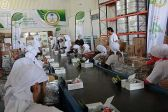 الحملة الوطنية السعودية لنصرة الأشقاء في سوريا تصل إلى المحطتين 14 و 15 من برنامجها الرمضاني